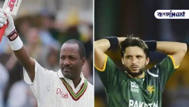 Photo of Afridi admitted that he was too scared to ball Lara.