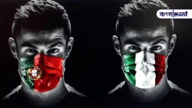 Photo of Portugal and Italy sent a special message to Ronaldo after reading the mask made by the two countries' flags.