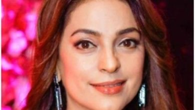 Photo of Juhi Chawla shared the picture on Peacock's business city