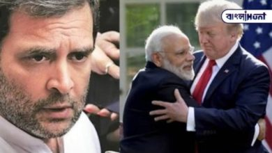 "Photo of Rahul Gandhi kills Donald Trump over ""friendship can never change"""