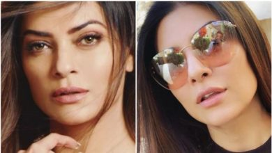 Photo of With the whole body floating in the air, Tumul Viral Sushmita Sen's 'hot' workout