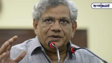Photo of Yechury on Twitter questioned Modi one after another