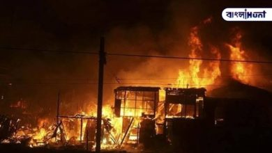 Photo of 1,500 houses burnt to ashes in lockdown, late night fire in Delhi