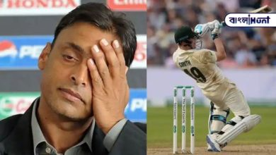 Photo of Shoaib Akhtar, the victim of the troll, demanded that Steve Smith be dismissed with just four balls.