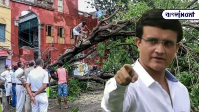 Photo of Sourav Ganguly described the Kolkata police's fight against Corona and Amfan.