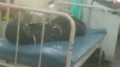 Photo of Corona's treatment is going on next to the dead body in the bag, the horrible video of the viral hospital at the moment