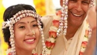 Photo of In multiple live-in relationships, Milind Soman married 30-year-old Ankita