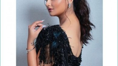 Photo of Viral Reshmi Desai dancing to Hindi songs with her back completely exposed in front of the camera