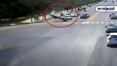 Photo of Viral video: The ghostly wind blew the truck, at the noise signal