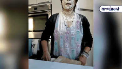 Photo of Viral video: The woman tied the knot while baking, which went viral on social media