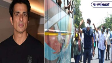 """Photo of Video: Arranging ten buses for the workers, Sonu Sood said, """"It hurts to see them walking home."""""""