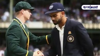 Photo of Five-faced Steve Smith in praise of Virat Kohli.