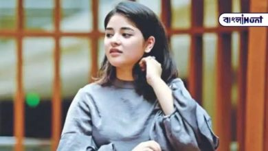 """Photo of """"I will only hold Allah accountable,"""" replied Zaira Wasim"""