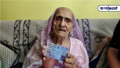 Photo of 100 years old, still paying income tax at the right time, honored by the Income Tax Department