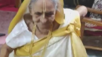 Photo of Age is just a number, grandma puts Netpara on the shelf by dancing to Hindi songs: viral video