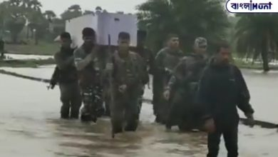 Photo of Cornish! The jawans crossed the river carrying the body of their colleague on their shoulders, watch the video