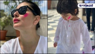 Photo of Ganesha, a toy made by little Timur, is worshiped in the Kapoor-Khan family, Kareena shared the photo