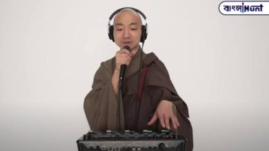Photo of Viral video: Modern music with Buddha's hymns, this DJ Buddhist monk is shaking the net world