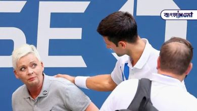 Photo of Djokovic was expelled from the U.S. Open after hitting the judge in the head
