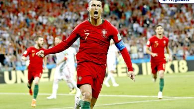 Photo of Cristiano Ronaldo becomes 100th European footballer to score 100 goals in national jersey