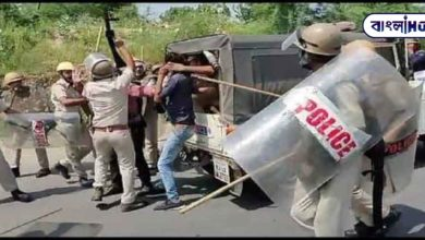 Photo of Police shot at teachers demanding jobs, one killed! Huge police force deployed to bring the situation under control