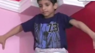 Photo of Kanpur's little 'Spiderman' jumped up the wall; Violent viral video