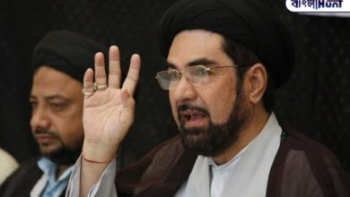 """Photo of """"Our community is ready to sacrifice its life in the fight against China,"""" the Shiite cleric wrote in a letter to the prime minister"""