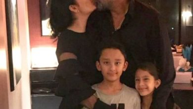 Photo of Sanjay Dutt flew to Dubai to meet his children before treatment