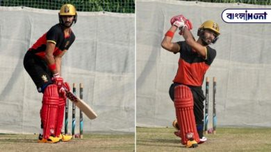 Photo of The young Indian batsman scored a half-century in his debut match in the IPL