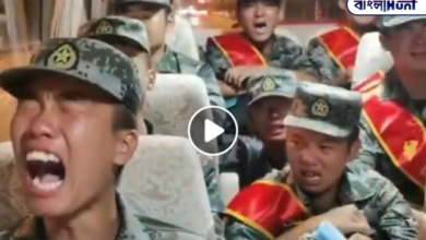 Photo of Chinese soldiers tremble in fear of Indian troops, video of their cries before being deployed at border goes viral