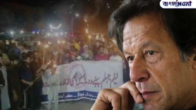 Photo of Imran befriended Jinping and thousands of people took to the streets in protest