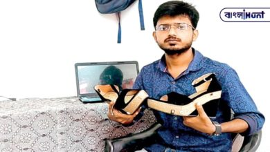 Photo of Bengali youth to invent fancy shoes to protect women! If it is forced, the police will be called and the current will be shocked