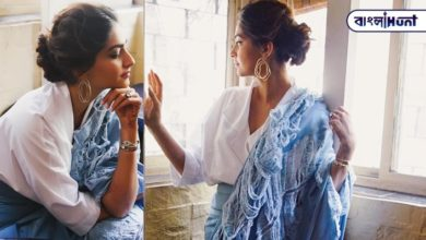 Photo of Sonam in a torn sari, in a viral film, says 'beggar' in a tumultuous troll netpara