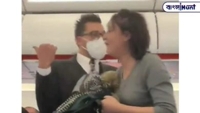 Photo of The woman started coughing on everyone's body on the plane, and then what happened – watch the viral video