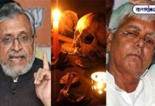 Photo of Lalu ji has performed Tantric worship to kill me, I have sacrificed 3 goats – Sushil Modi