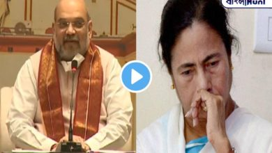 Photo of Dad is worried about coming to the state, or does not wear a mask? Amit Shah's joke video for Mamata Banerjee goes viral